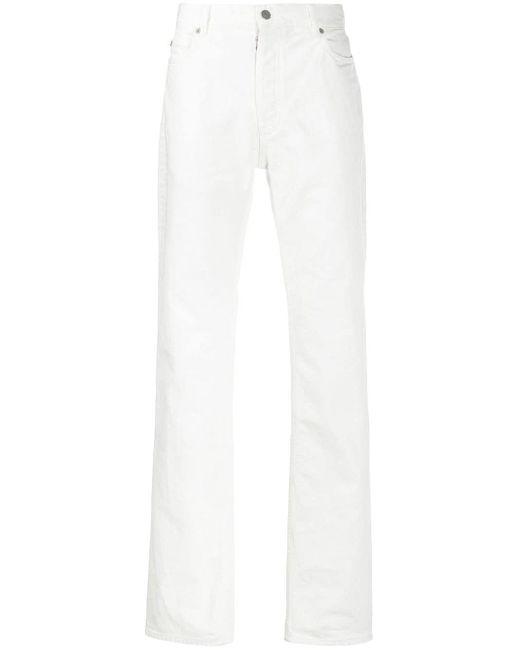 メンズ Maison Margiela ストレートジーンズ White