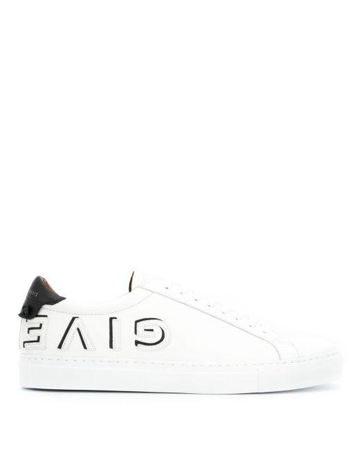メンズ Givenchy ロゴ ローカット スニーカー White