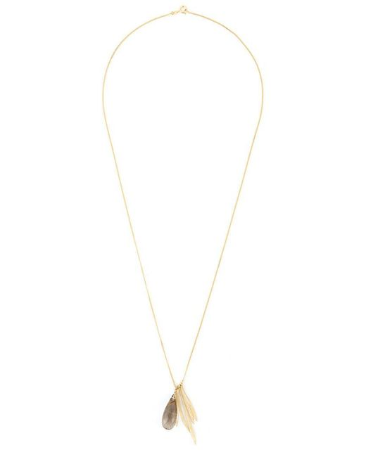 Wouters & Hendrix - Metallic 'bamboo' Rutilated Quartz Necklace - Lyst