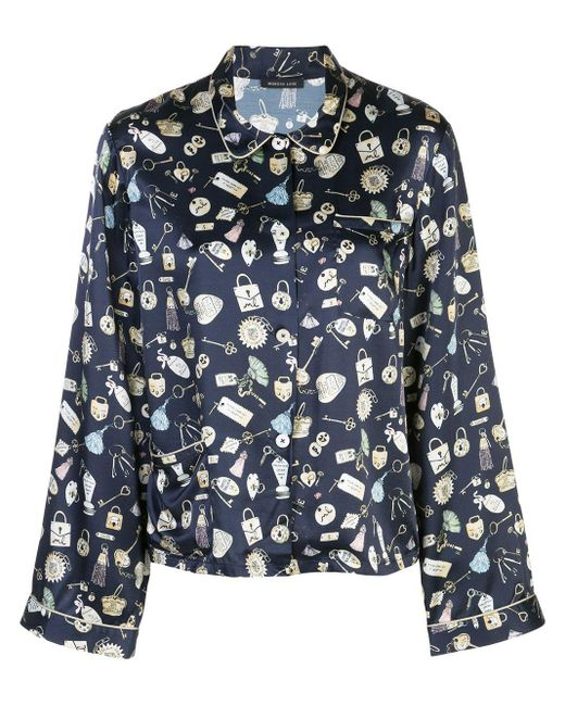 Haut de pyjama Ruthie Morgan Lane en coloris Blue