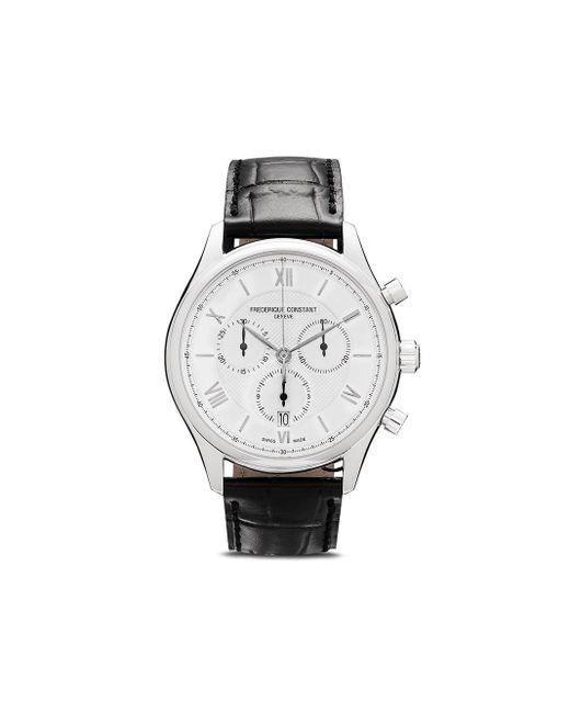 Наручные Часы Classics Quart Chronograph 40 Мм Frederique Constant для него, цвет: Metallic