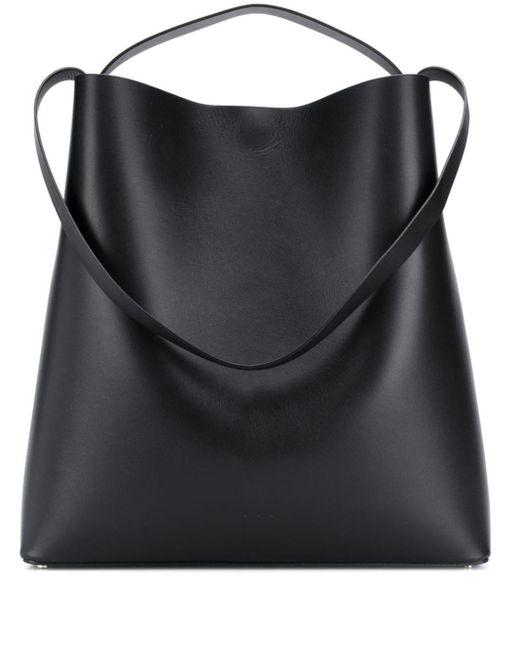 Aesther Ekme Black Shoulder Strap Shopper Bag