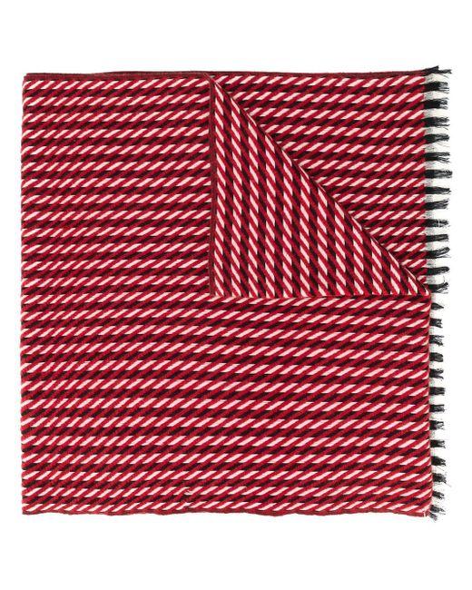 Holland & Holland Aune スカーフ Red