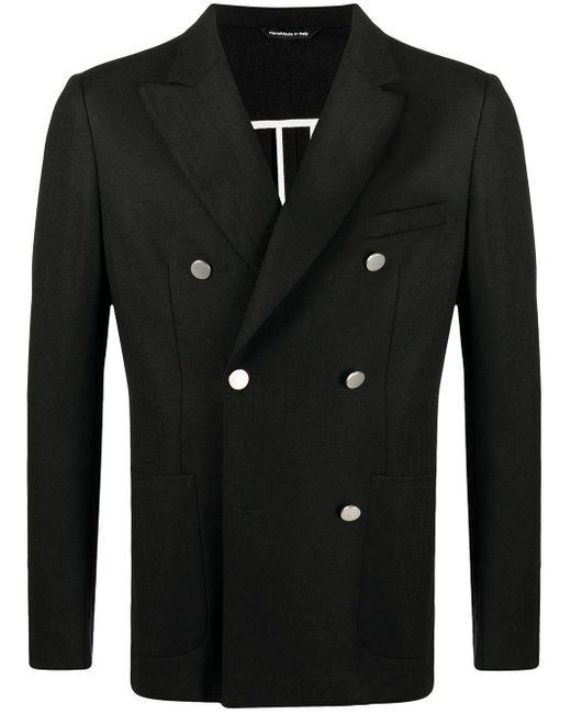 Двубортный Пиджак Tonello для него, цвет: Black