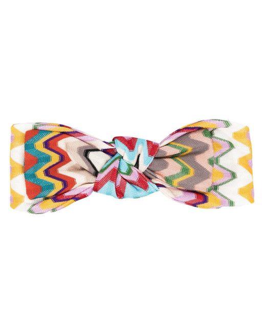 Fascia con nodo di Missoni in Multicolor