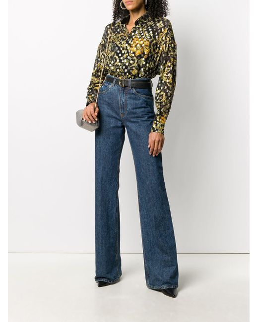 Versace Jeans バロッコ シャツ Black