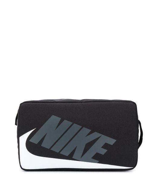 メンズ Nike ロゴ トラベルポーチ Black