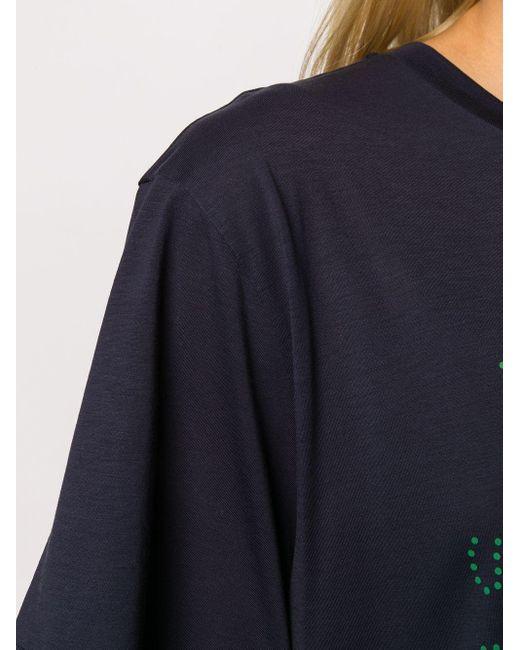 T-shirt con stampa di Stella McCartney in Blue