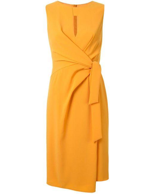 Paule Ka シフトドレス Yellow