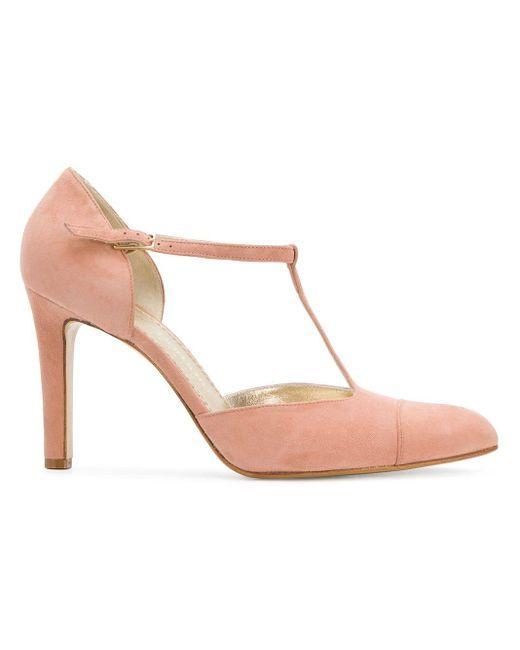 Antonio Barbato バックルパンプス Pink