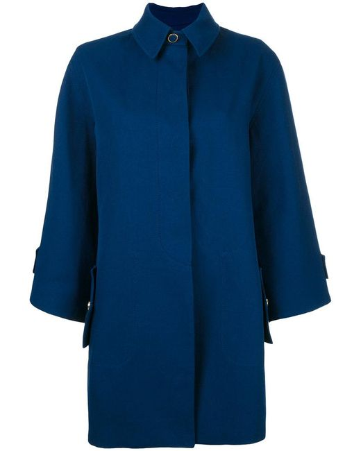Rossella Jardini | Blue Wide Sleeve Coat | Lyst