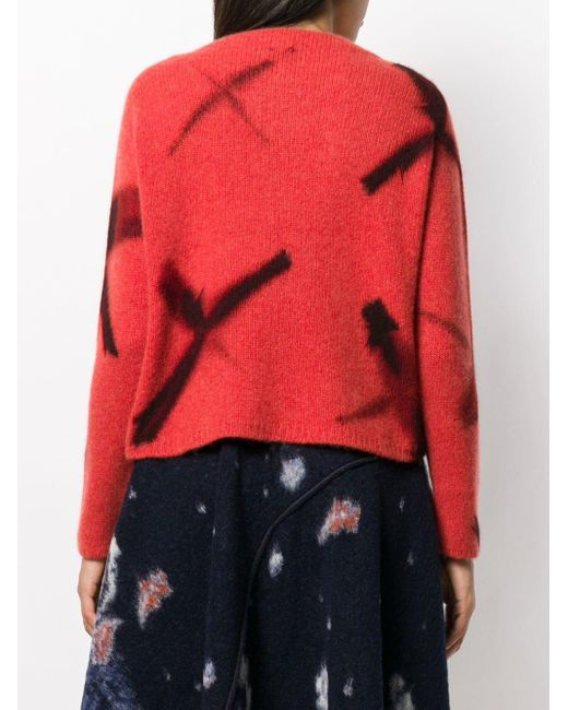 Suzusan カシミア セーター Red