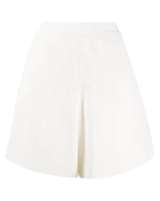 Stella McCartney フレア ショートパンツ White