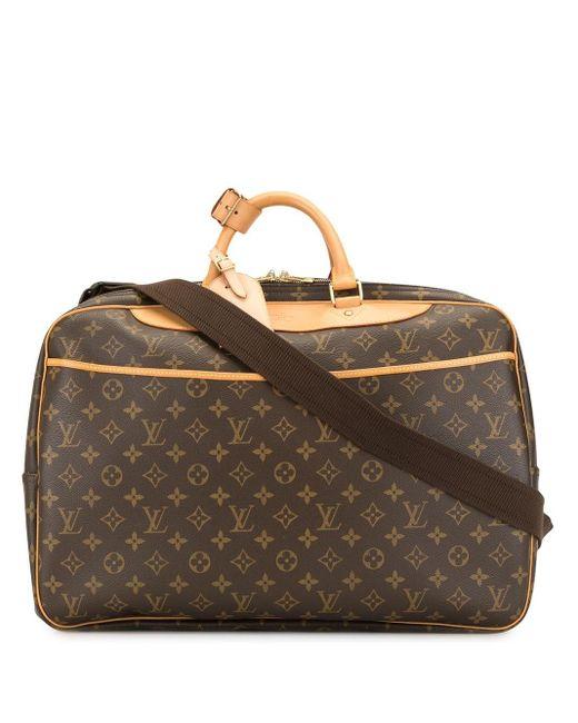 Louis Vuitton アリゼ 24 H アール トラベルバッグ Brown