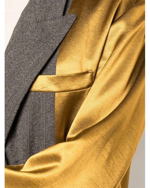 Uma Wang オーバーサイズ ジャケット Multicolor