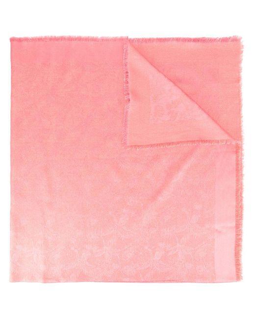 Shanghai Tang パターン ショール Pink