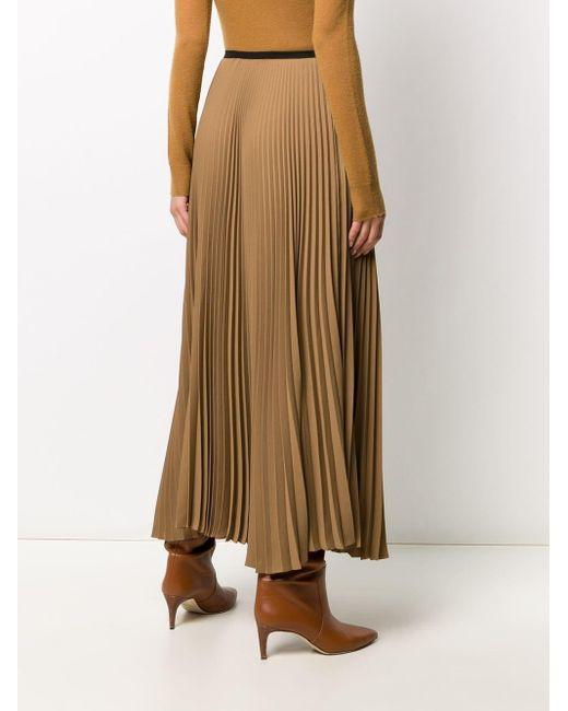 Blanca Vita ハイウエスト プリーツスカート Multicolor