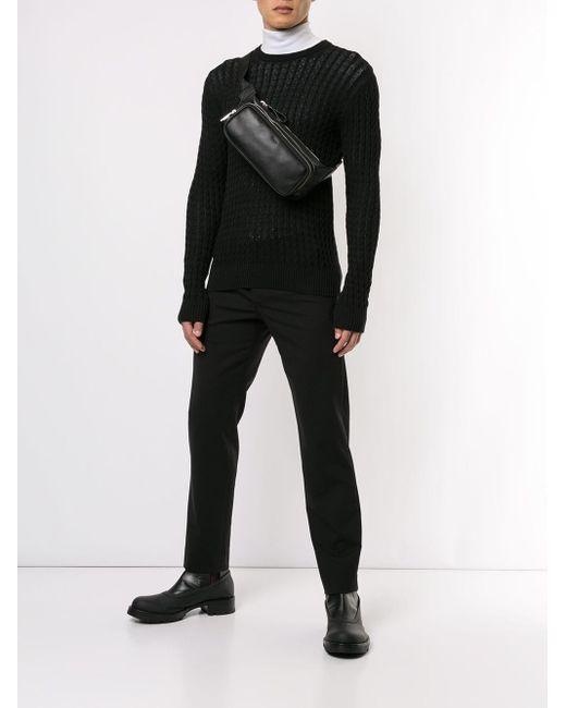メンズ Tod's ベルトバッグ Black