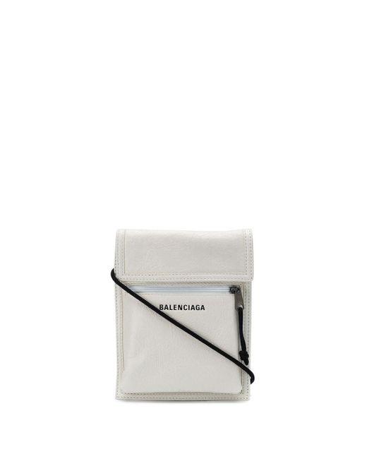 Сумка Explorer С Ремешком На Шею Balenciaga для него, цвет: White