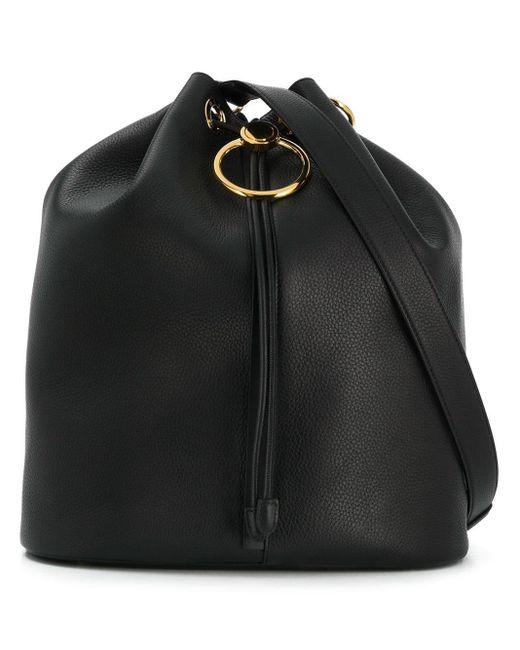 Marni ドローストリング バケットバッグ Black