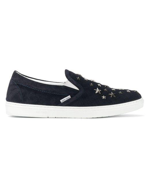 Jimmy Choo Blue Grove Sneakers for men