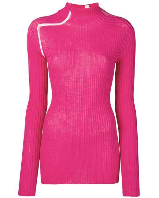 Victoria Beckham リブトップ Pink