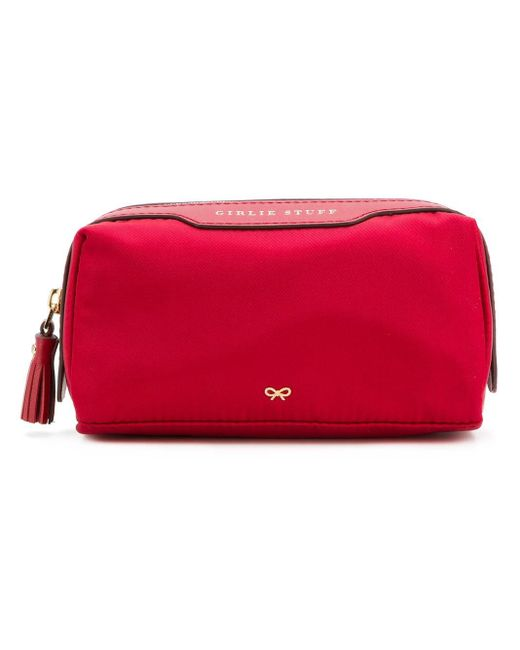 Anya Hindmarch Girlie コスメポーチ Red