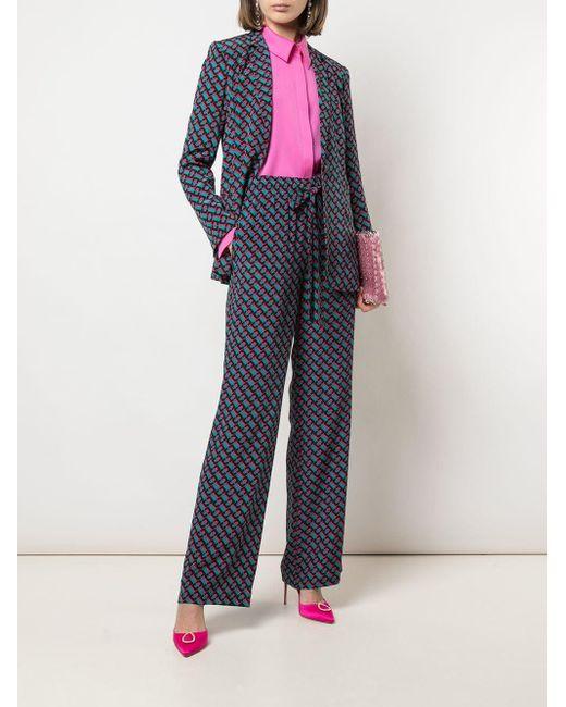 Diane von Furstenberg ドロップショルダーブラウス Pink