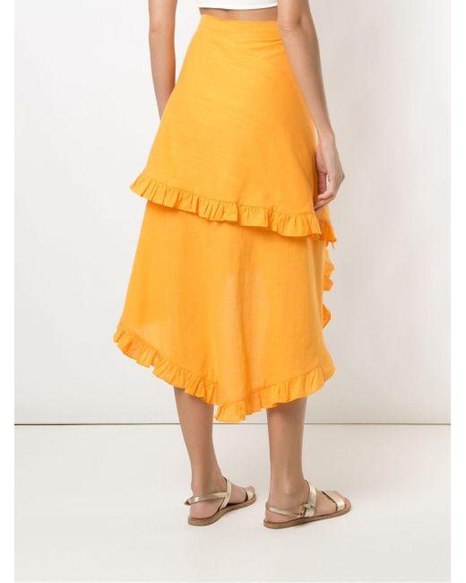 Clube Bossa Feine スカート Orange