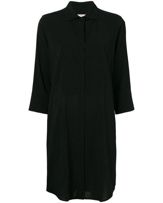 Alberto Biani - Black Shift Shirt Dress - Lyst