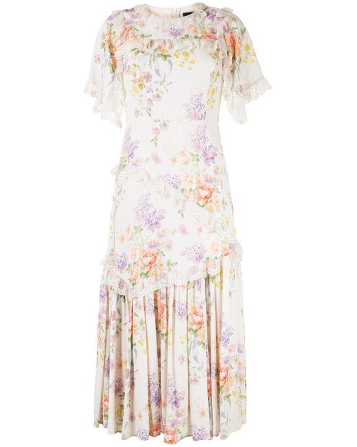 Needle & Thread フローラル ドレス Multicolor