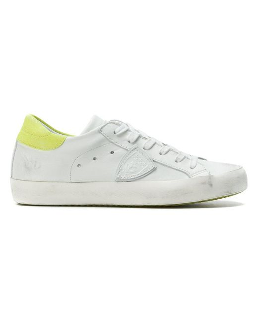 Paris lace-up sneakers - White Philippe Model lRpAcolJ