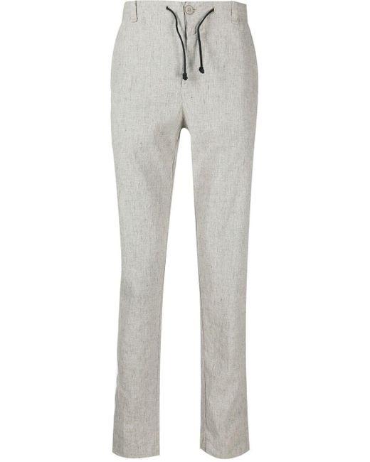 Pantalones de chándal rectos con cordones Transit de hombre de color Gray