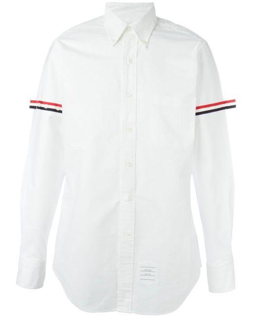 メンズ Thom Browne オックスフォードシャツ White