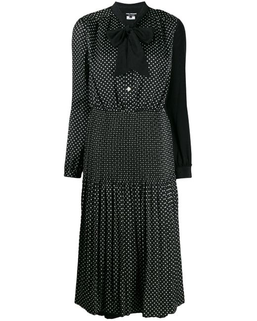 Junya Watanabe ポルカドット ドレス Black