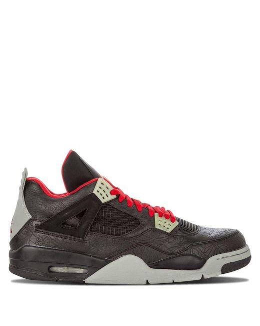 メンズ Nike Air 4 Retro Rare Air スニーカー Black