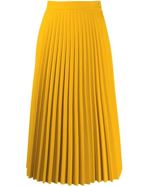 MM6 by Maison Martin Margiela プリーツスカート Yellow