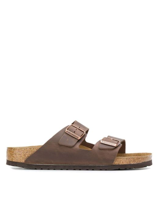 メンズ Birkenstock Arizona サンダル Brown