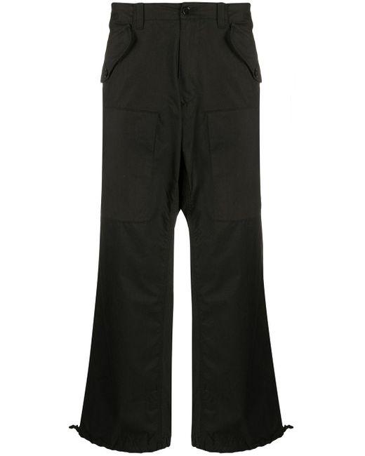 メンズ Moschino ロゴ カーゴパンツ Black