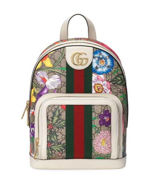Gucci フローラル バックパック Multicolor