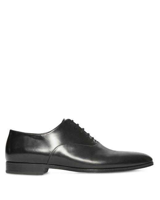 Туфли Оксфорды Burberry для него, цвет: Black