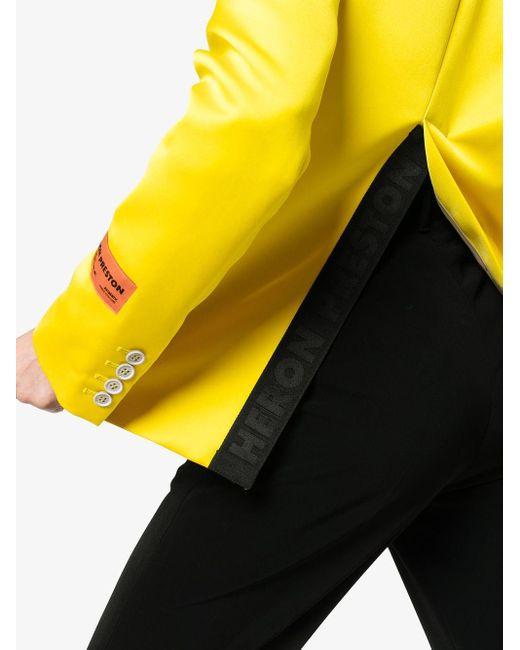 Heron Preston Mikado シングルジャケット Yellow
