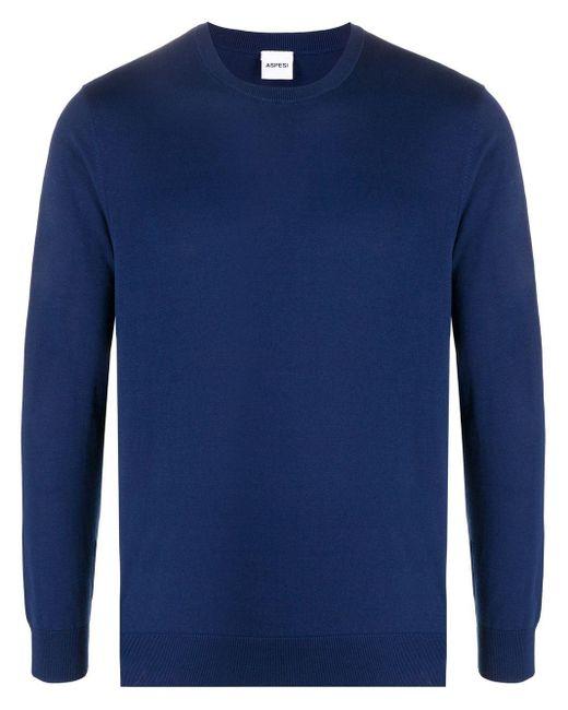 Maglione leggero di Aspesi in Blue da Uomo