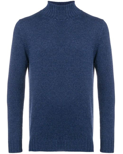 メンズ Dell'Oglio カシミア セーター Blue