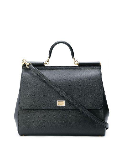 Dolce & Gabbana Sicily ハンドバッグ Black