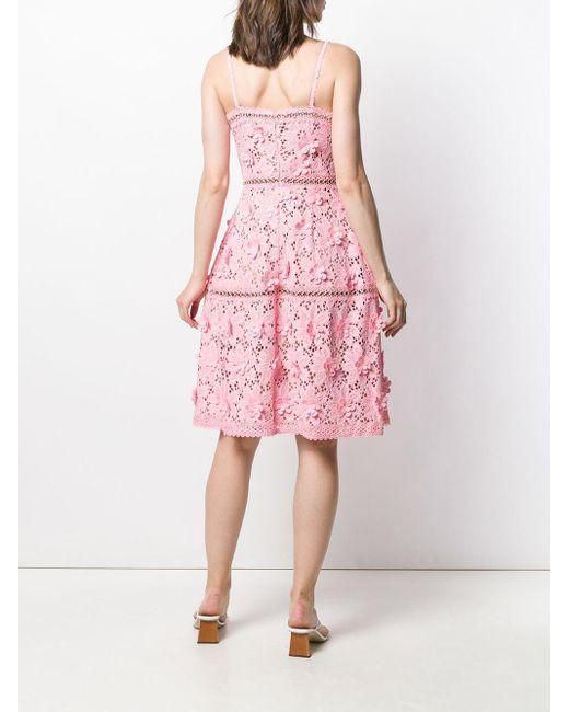 MICHAEL Michael Kors フローラル ドレス Pink