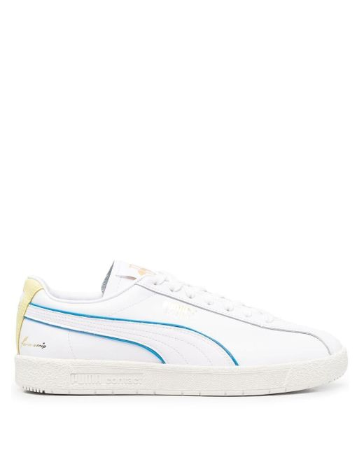 PUMA White Low-top Sneakers for men