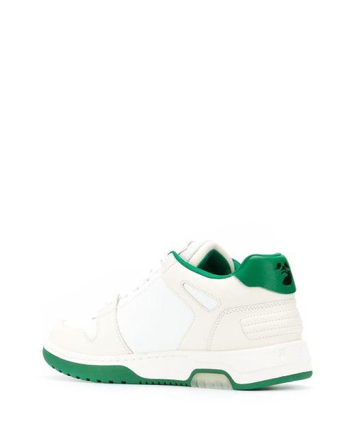 Кроссовки Out Of Office Off-White c/o Virgil Abloh для него, цвет: Green