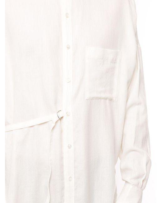 メンズ Attachment デコンストラクテッド シャツ Multicolor