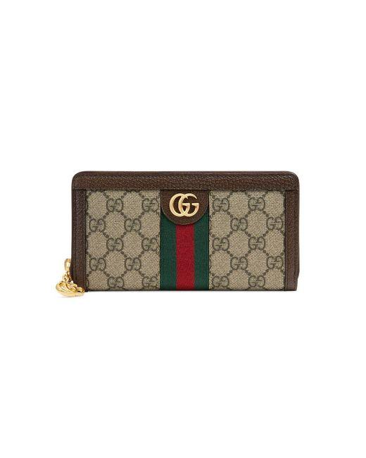 Gucci オフィディア GG 長財布 Natural